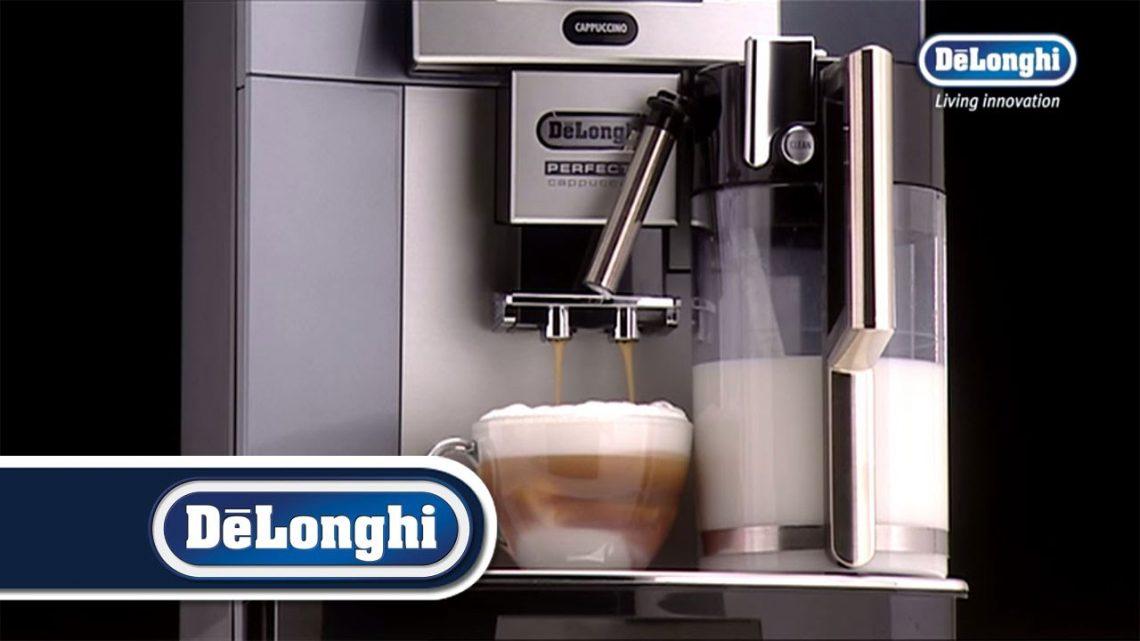 Comment préparerson café avecDelonghi ecam 22 110 b